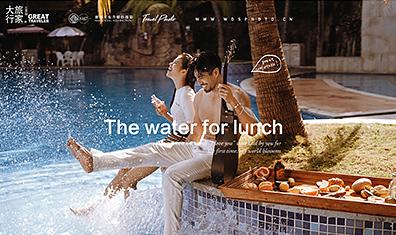三亚旅拍 / Swimming pool